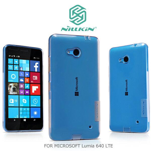 強尼拍賣~ NILLKIN MICROSOFT Lumia 640 LTE 本色TPU軟套