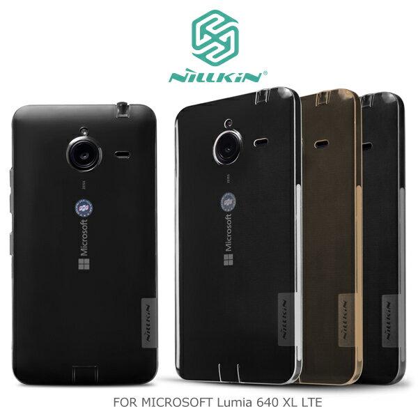 強尼拍賣~ NILLKIN MICROSOFT Lumia 640 XL LTE 本色TPU軟套 軟殼 果凍套 透色套