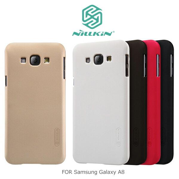 強尼拍賣~ NILLKIN Samsung Galaxy A8 超級護盾保護殼 抗指紋磨砂硬殼