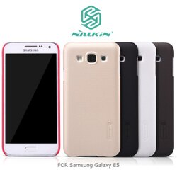 強尼拍賣~ NILLKIN Samsung Galaxy E5 超級護盾硬質保護殼 抗指紋磨砂硬殼