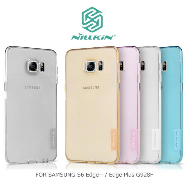 強尼拍賣~ NILLKIN Samsung Galaxy S6 Edge Plus G928F 本色 TPU 軟套 軟殼