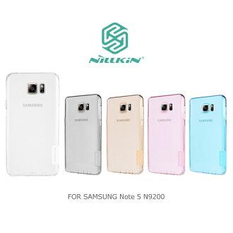 強尼拍賣~ NILLKIN Samsung Note 5 N9200/N9208 本色TPU軟套 軟殼 果凍套 透色套