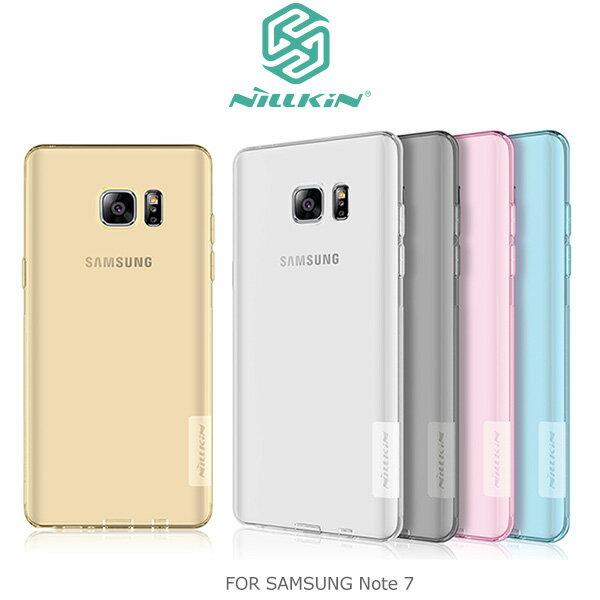 強尼拍賣~ NILLKIN Samsung Galaxy Note 7 本色TPU軟套 軟殼 果凍套 預購 約8/31到貨