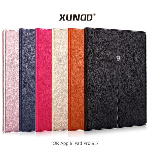 強尼拍賣~XUNDD訊迪AppleiPadPro9.7貴族可立皮套側翻皮套保護套可插卡皮套