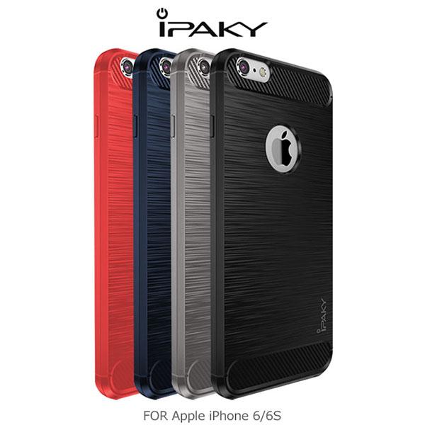 強尼拍賣~ iPAKY Apple iPhone 6S/6S Plus 拉絲矽膠套 保護殼 TPU套 軟殼