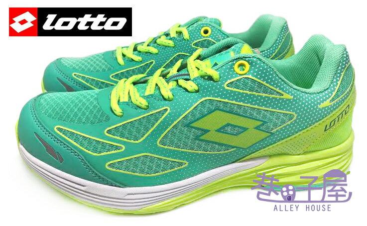 【巷子屋】義大利第一品牌-LOTTO樂得 VCLOCI 女款雙密度避震運動慢跑鞋 [2685] 松石綠 超值價$690