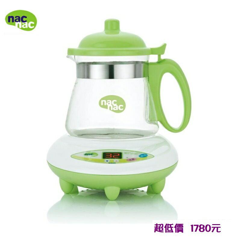 ^~美馨兒^~ nac nac微電腦溫煮兩用調乳器 溫奶器 ^(TM~602H^) 178