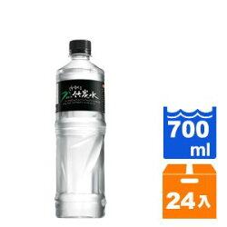【免運】味丹 多喝水 鹼性竹炭水 700ml (24入)/箱