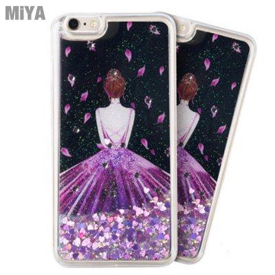 iPhone X 韓國女孩流砂手機防摔保護軟殼套 粉紅紫螢光綠色