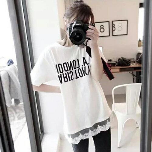 韓範百搭T恤裙上衣(白色M) 【OREAD】 - 限時優惠好康折扣
