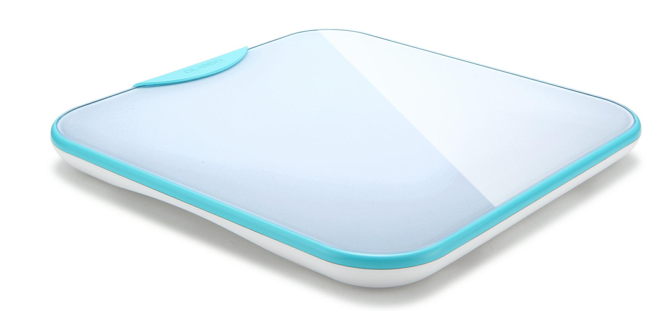 體重計 藍牙傳輸體重計 無線智慧體重計 台灣品牌【oserio歐瑟若】BTG-365G極光綠 2