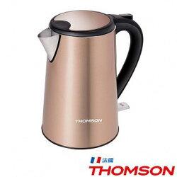 ★ 雙11購物節 ★ 【免運】THOMSON 湯姆盛 TM-SAK13 雙層不鏽鋼快煮壺 1.5L 煮水壺 電茶壺 公司貨