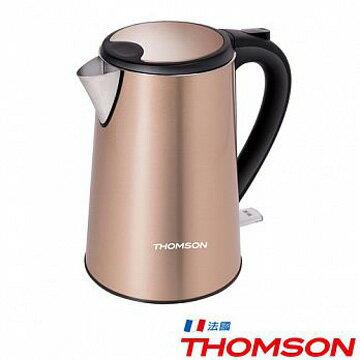 ★現貨到★【免運】THOMSON湯姆盛TM-SAK13雙層不鏽鋼快煮壺1.5L煮水壺電茶壺公司貨