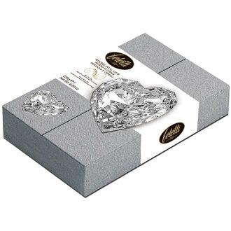 免運【菲雷堤Feletti 1882】義大利進口巧克力禮盒★愛心寶石系列-經典銀鑽★免運
