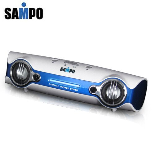 A0768《SAMPO》2.0多媒體喇叭(藍) JK-U607L_B