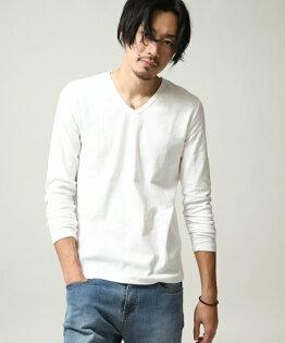橫條紋T恤WHITE