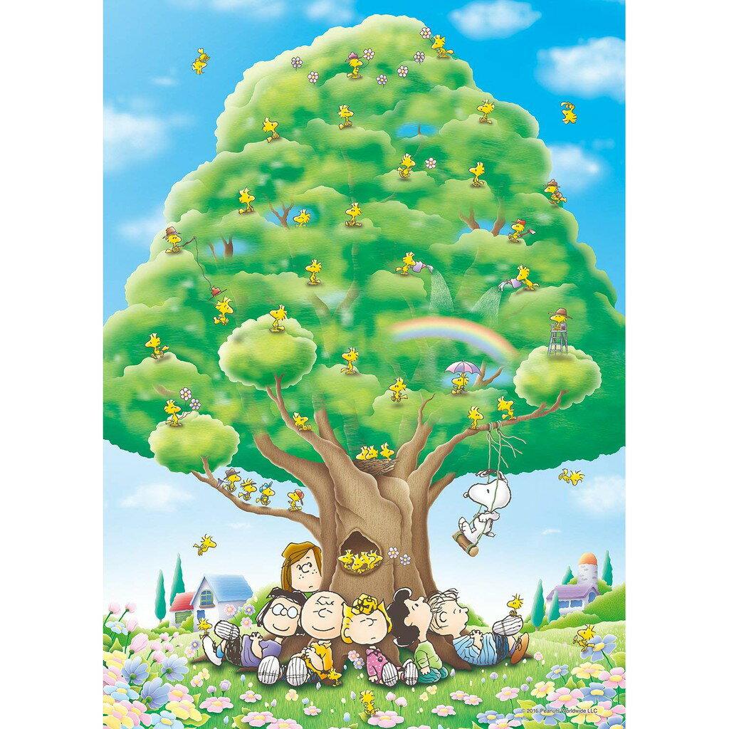 星野日本玩具商店 【預購】日本進口正版 Peanut 史努比 超多糊塗塌客大樹拼圖 1000片 (38x53cm)【星野日本玩具】