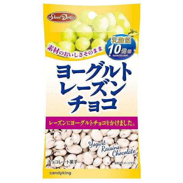糖果王:日本正榮葡萄乾優格巧克力45g