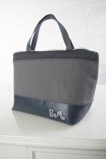 BaMo灰雙層鋁箔保溫加倍,超輕防水便當袋.保溫袋150公克