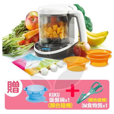美國Babybrezza食物調理機-數位版【贈KUKU吸盤碗x1+3M食物剪x1(顏色隨機)】【悅兒園婦幼生活館】