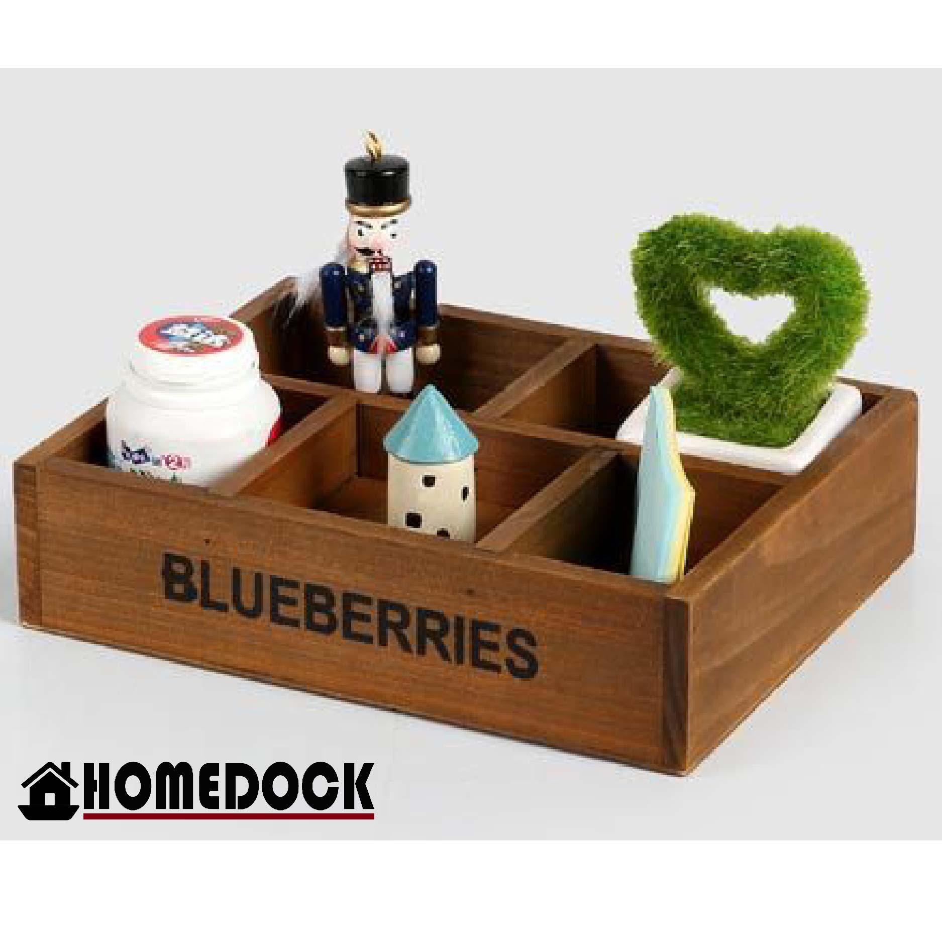 原木質感4格/5格 小物收納盒 /桌面/置物盒/Zakka/雜貨/原木製/木盒/文具盒/置物盒