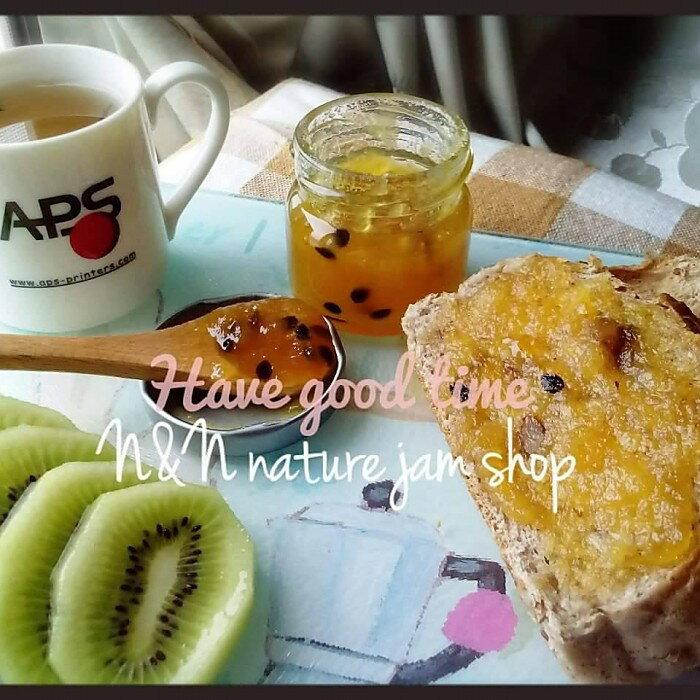 N&N天然手工果醬百香果鳳梨果醬口味50ml(絕無添加防腐劑、人工添加物)