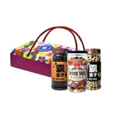 【康健生機】黃金堅果花開富貴禮盒3入