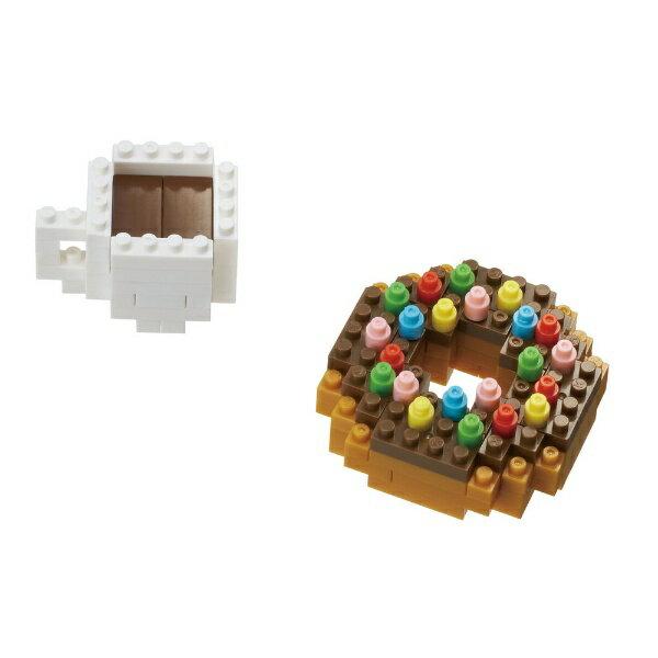 《NanoBlock迷你積木》NBC-246甜甜圈&咖啡