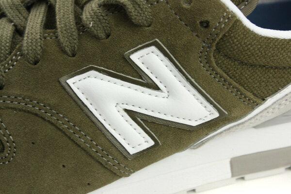 NEW BALANCE 996 運動鞋 綠色 男鞋 MRL996JZ no285 3