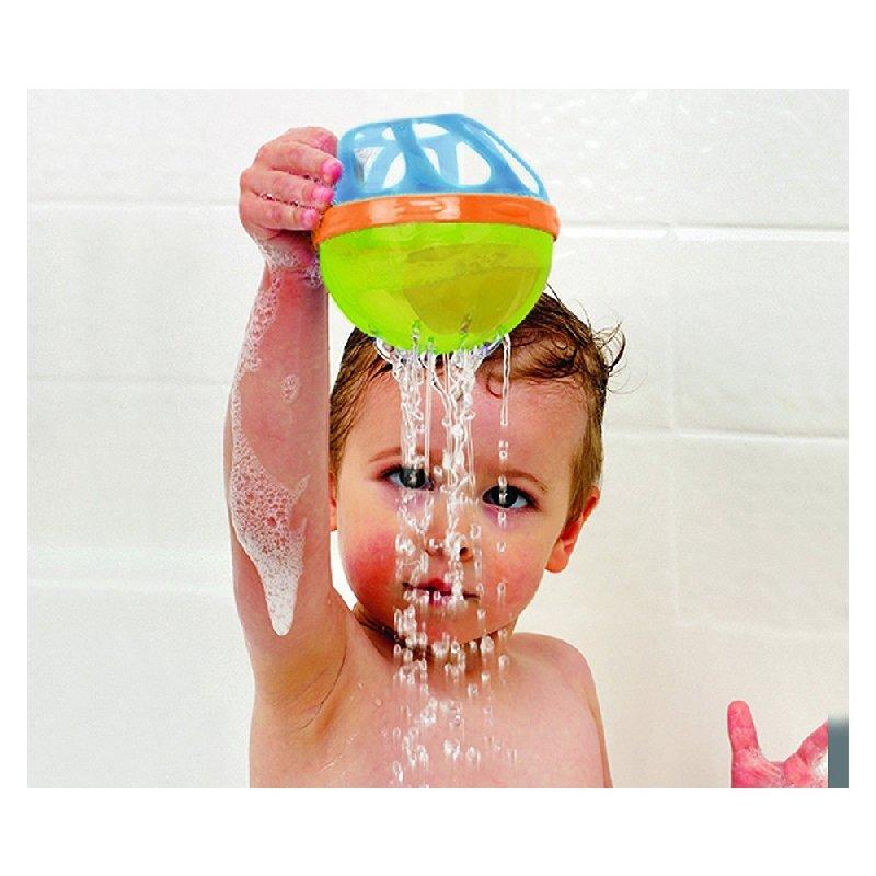 munchkin滿趣健寶寶洗澡玩具戲水球 (粉 MNB23209P) 192元