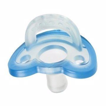 Jollypop香草安撫奶嘴0-3M藍贈貓頭鷹收納盒『121婦嬰用品館』