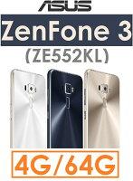 母親節禮物推薦【原廠貨】華碩 ASUS ZenFone 3(ZE552KL)八核心 5.5吋 4G/64G 4G LTE智慧型手機 Zenfone3●雙卡雙待●指紋辨示
