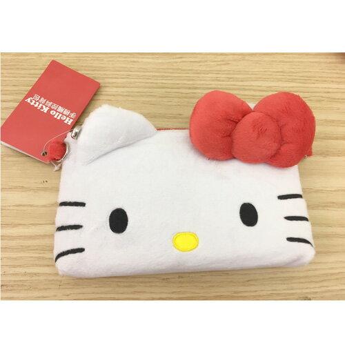 【真愛日本】17062900018 手機觸控背包-紅 三麗鷗 kitty 凱蒂貓 手機收納包 化妝包 收納袋 3C