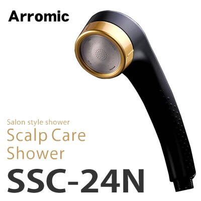 日本 Arromic/沙龍SPA級花灑蓮蓬頭/SSC-24N。共1色-日本必買 日本樂天代購(5880*0.3)