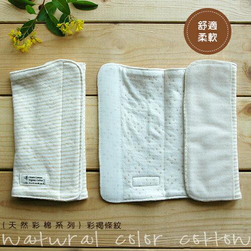 【大成婦嬰】藍天畫布-100%有機棉 (天然彩棉) 嬰幼兒揹袋口水巾(2入/組) 無染色無漂白 台灣製造 0