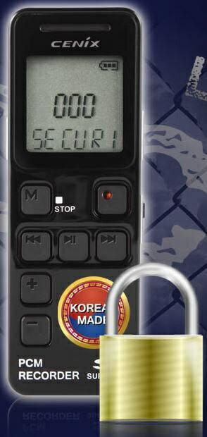 韓國CENIX 專業型藍芽數位錄音筆 8G SVOS PCM 安全性錄音 TOP-10 / 支