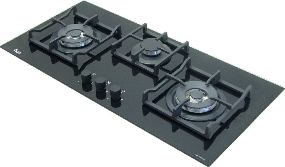 TEKA 德國 LUX-86 玻璃三口瓦斯爐【零利率】※熱線07-7428010