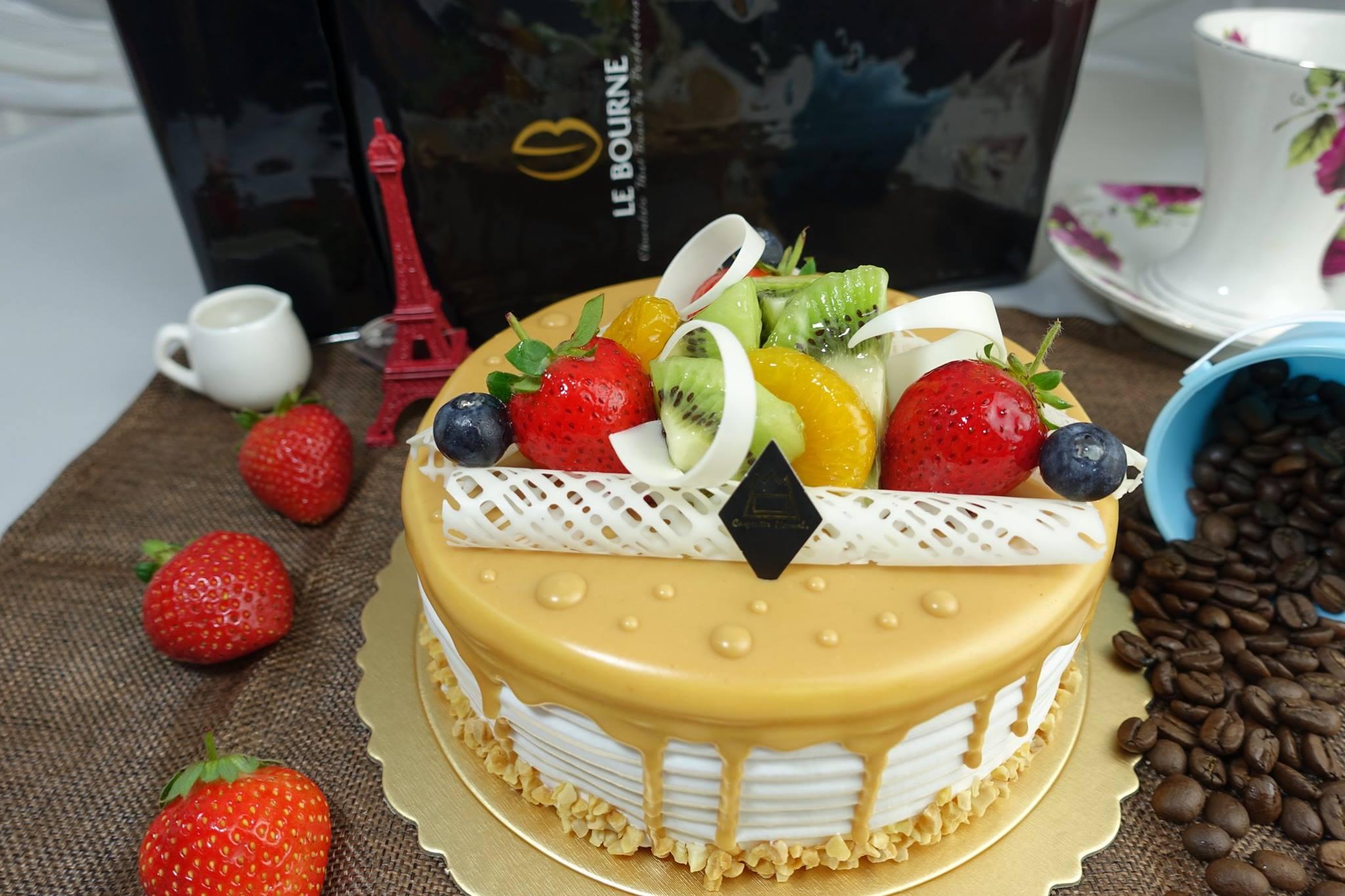 木匠手作★客製化生日蛋糕(8吋) 3