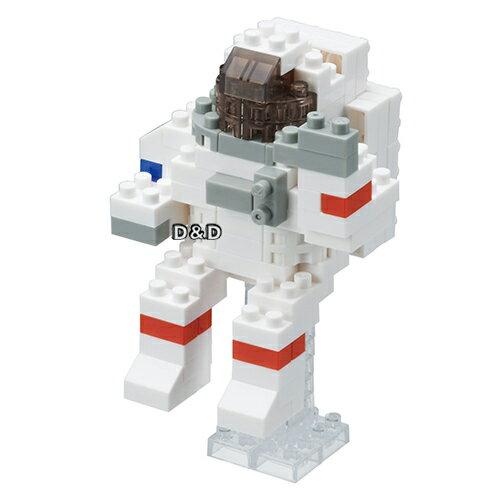 《 Nano Block 迷你積木 》NBC - 198 太空人