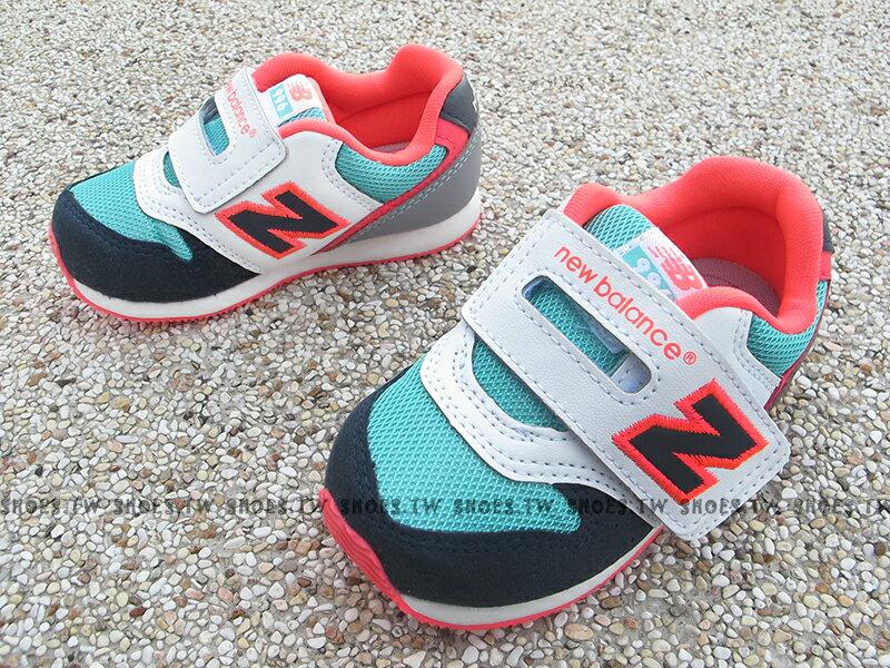 Shoestw【FS996DMI】NEW BALANCE 996 學布鞋 童鞋 運動鞋 小童 白藍螢光桃紅