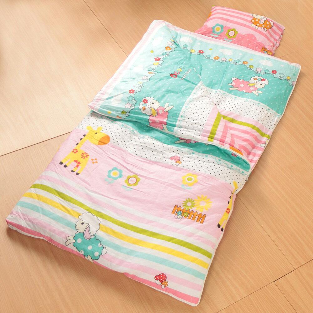 純棉被套可拆式被胎兒童睡袋毯