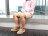 【全店點數15倍送】Kildare 巴西綁帶休閒鞋 淺棕 男 慢跑 4