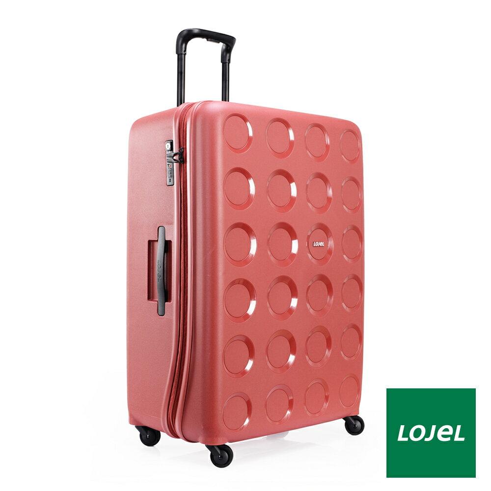 【日本 LOJEL】日本設計 31吋 酒紅色 PP VITA 拉鍊(登機 行李箱 / 旅行箱)