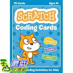 [106美國直購] 2017美國暢銷兒童書 Scratch Coding Cards: Creative Coding Activities for Kids Paperback
