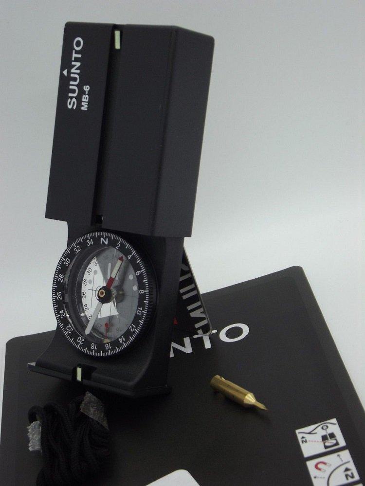::bonJOIE:: 美國進口 芬蘭製 Suunto MB-6 NH Compass 專業地圖 指北針 (全新盒裝) 指南針 MB6 登山 健行 探險 露營 建築 搜救