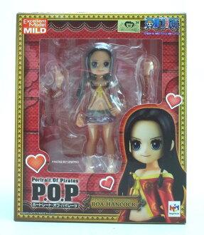 日版金證 POP CB-EX 小時候 王下七武海 女帝 漢考克 BOA HANCOCK 海賊王 Excellent Model MILD P.O.P