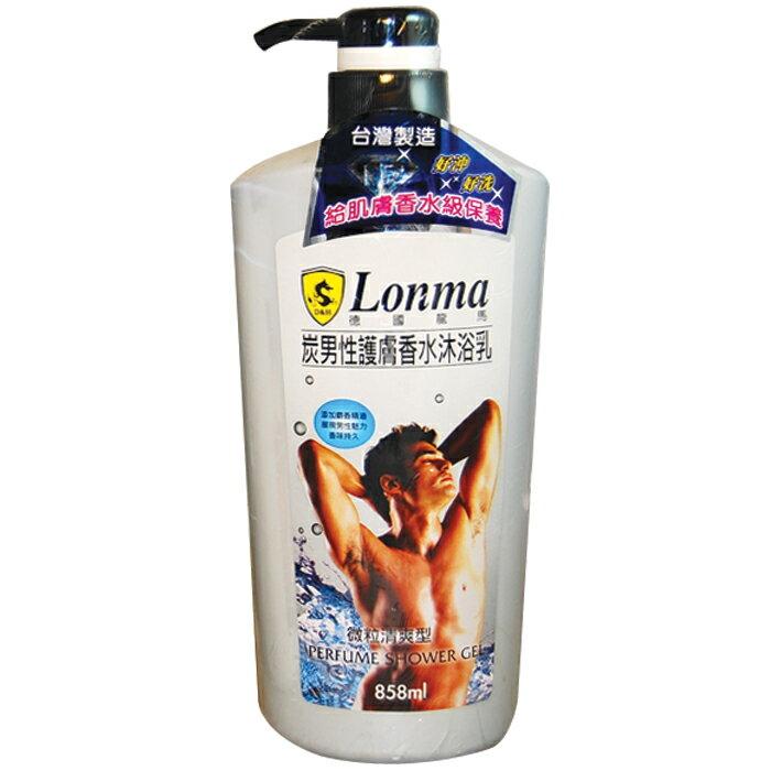 龍馬 炭男性護膚香水-微粒清爽型 沐浴乳 858ml 1