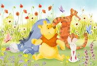 小熊維尼周邊商品推薦Winnie The Pooh繽紛花海拼圖300片