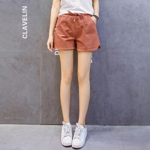 亞麻闊腿棉麻短褲(5色S~3XL)【OREAD】 2