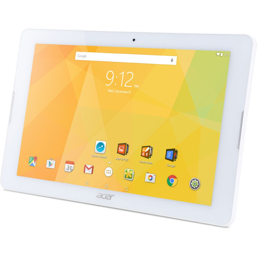 "Acer 10.1"" MediaTek Quad-Core 1.3GHz 1GB Ram 16 GB Flash Android 5.1